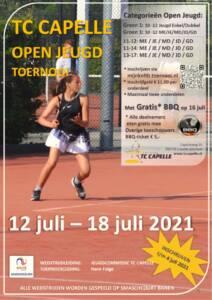 TC Capelle Open Jeugdtoernooi 2021